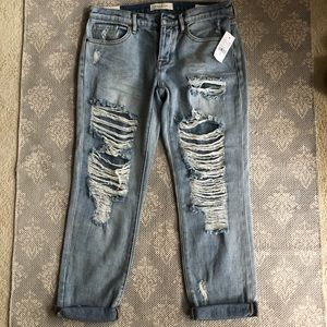 NWT PacSun Boyfriend jeans size 26